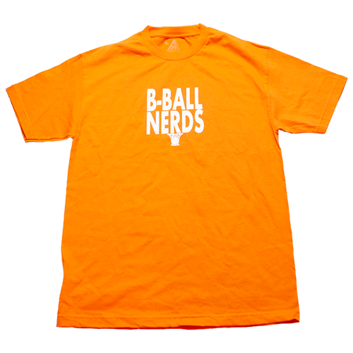 B-Ball Nerds Tee オレンジ