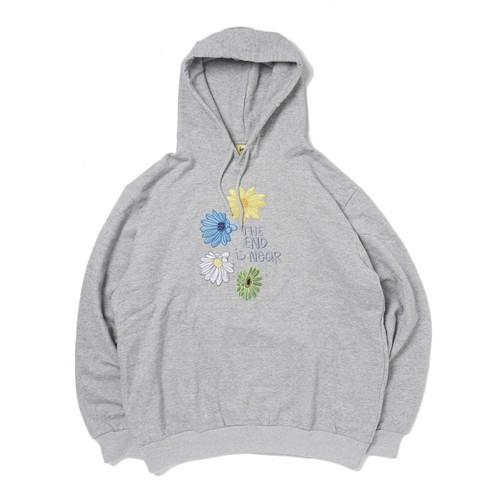 Allege. × iggy Flower Hoodie(GRAY)