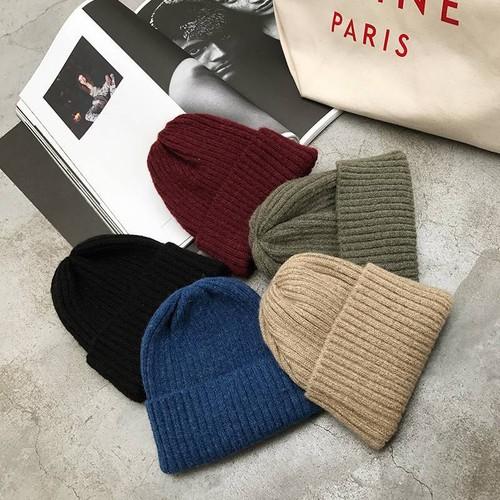 ファッション雑貨 レディース 帽子 ニットキャップ ワッチキャップ カジュアル シンプル おしゃれ