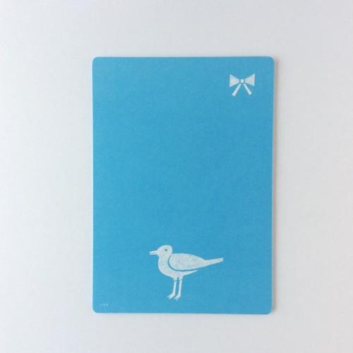 鳥とリボンの便箋