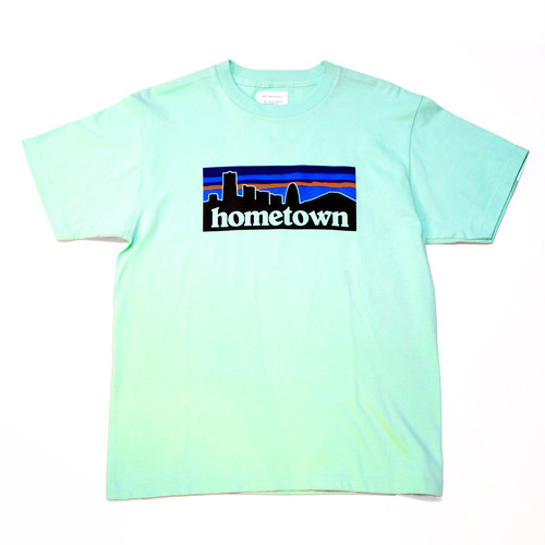 WILL HOME TOWN TEE ( ICE GREEN )