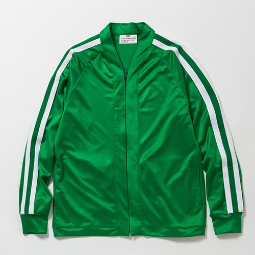 ZIP JERSEY CARDIGAN - GREEN