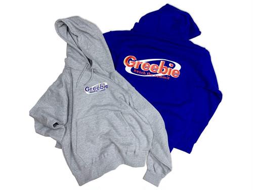 Detergent logo Hoodie【Gray / Blue】