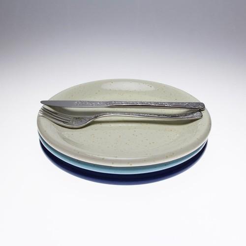 【アイボリー21㎝】ぽってりと温もりのあるイタリアトスカーナのお皿