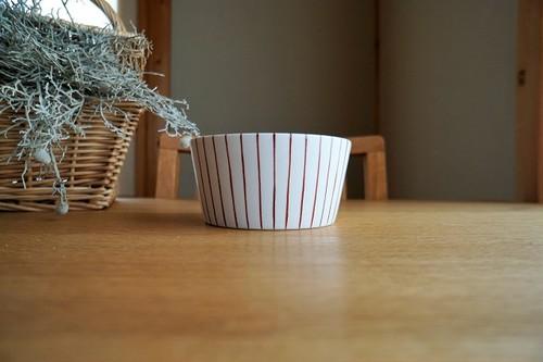 砥部焼/小鉢/赤十草/すこし屋