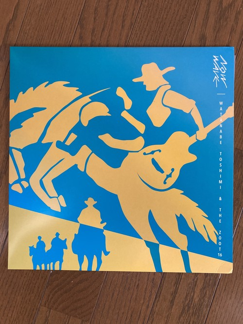 WATANABE TOSHIMI & THE ZOOT16  NOW WAVE  12inch VINYL