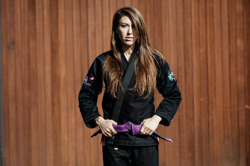 予約注文受付中 女性用 BEAUTIFUL PRECISION ブラック|ブラジリアン柔術衣