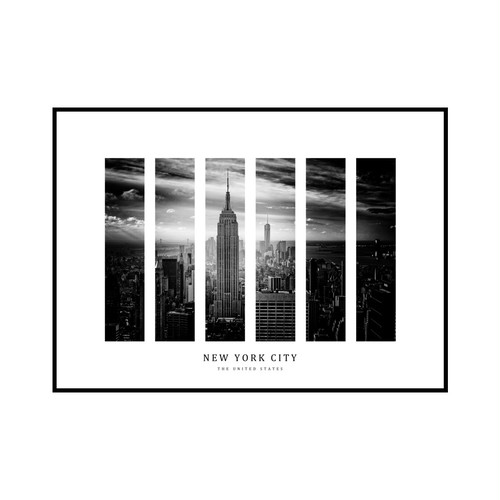 """NEW YORK CITY"" US - POSTER [SD-000595] A4サイズ ポスター単品"
