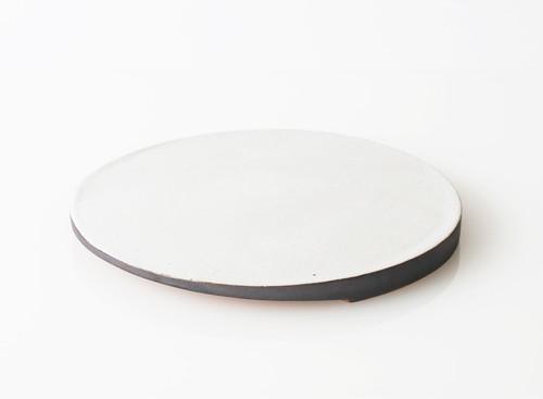 TSUKI(YUKI) フラットプレート 300(瓦食器・平皿・丸)