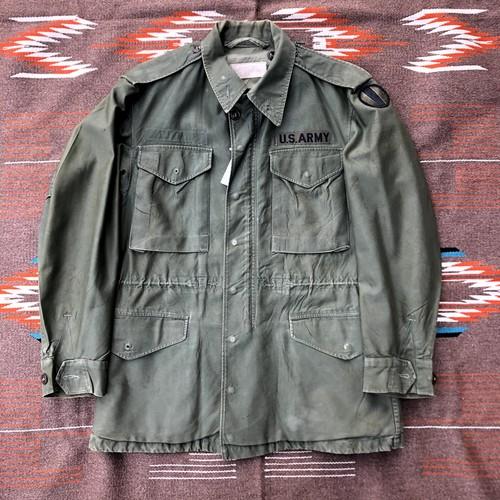 米軍実物 ヴィンテージ USアーミー ミリタリー フィールドジャケット 50's US ARMY M-1951 FIELD JACKET(1957年製)