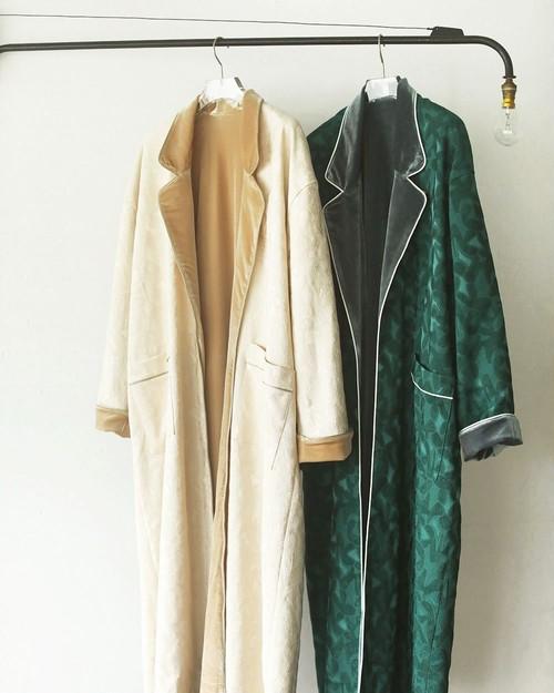 TODAYFUL トゥデイフル Satin Jacquard Gown 12020007 アイボリー