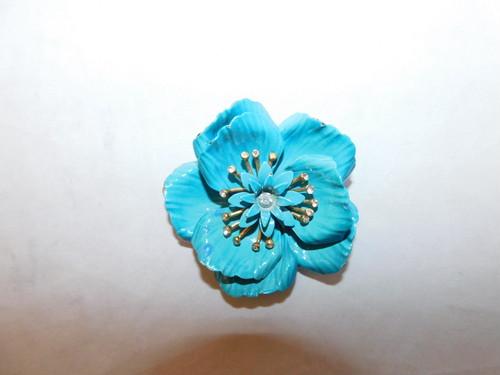 トリファリのブローチ(ビンテージ )Torifari color vintage brooch(made in U.S.A.)