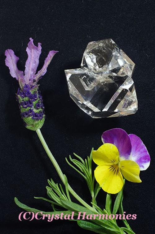最高のチャクラの石☆ハーキーマーダイヤモンド No.7
