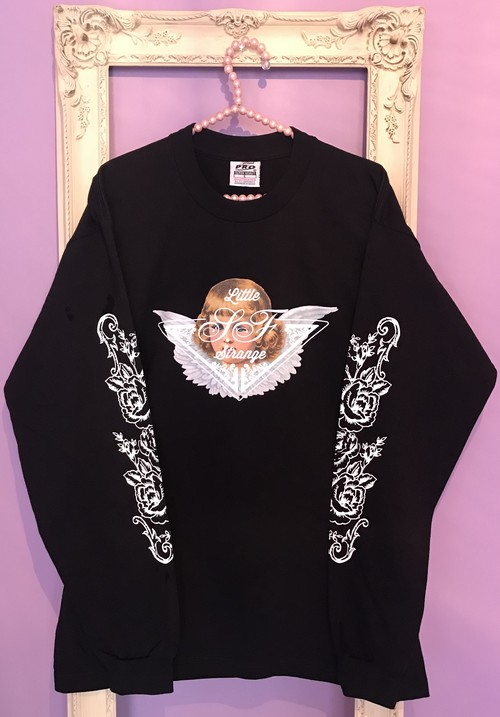 Angel long sleeve Tshirt BLACK