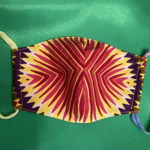 レディースファッションマスク  アフリカ生地  2