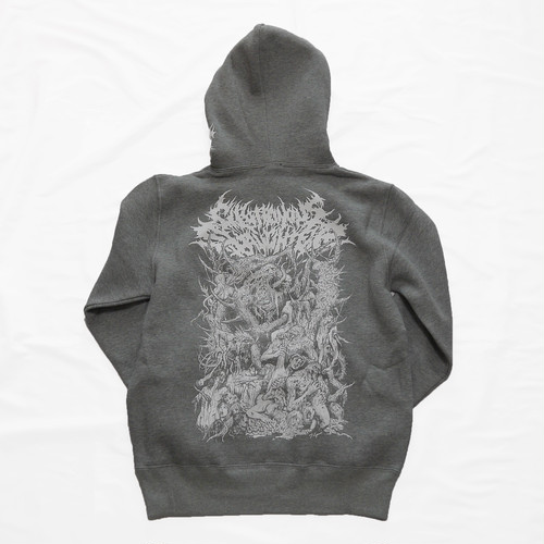 Gluttonous Creatures Hoodie Heather Gray