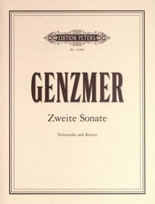 ゲンツマー:ソナタ/クラリネット・ピアノ