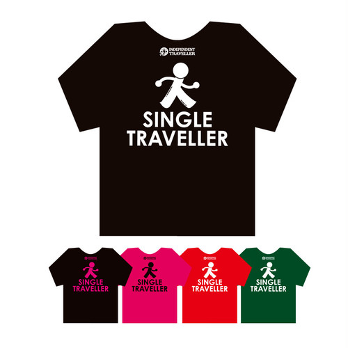 SINGLE TRAVELLER Tシャツ(受注製作販売)