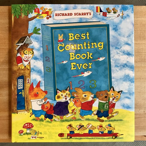 洋書「Ricard Scarry's Best Counting Book Ever」