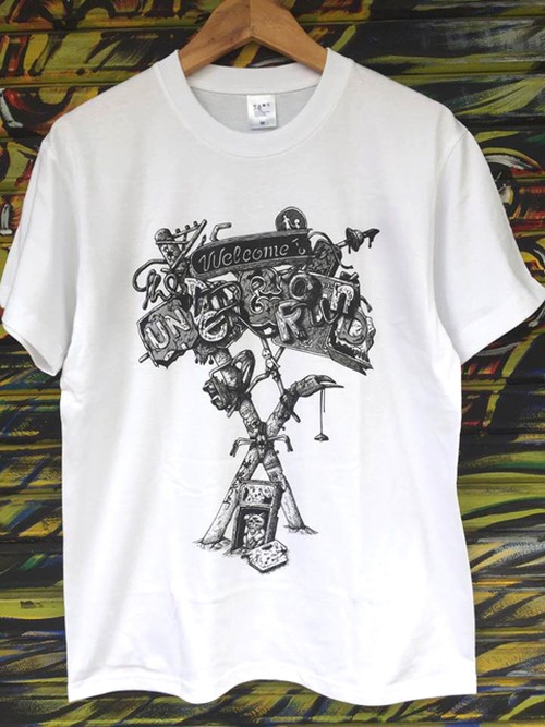 『Welcome to the UNDERGROUND』Tシャツ(White)