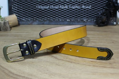 """Color Garrison Belt STD"" Yellow"