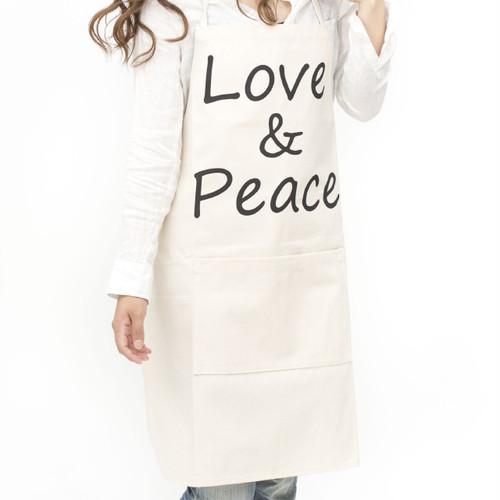 [ the HAMP works ] APRON  B-8:Love&Peace