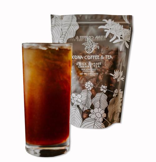 KONA COFFEE & TEA@ コーヒーチェリーティー 4oz.《113g》専用袋付き3日ぐらいお届け