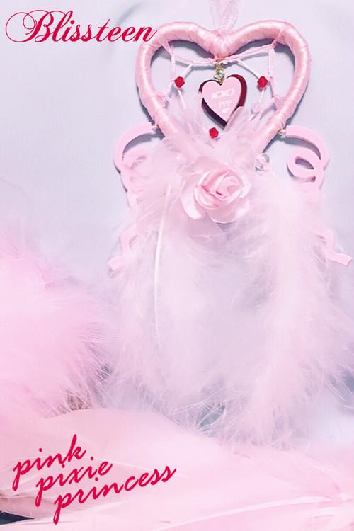 PPP×Blissteen コラボレーションドリームキャッチャー / pink