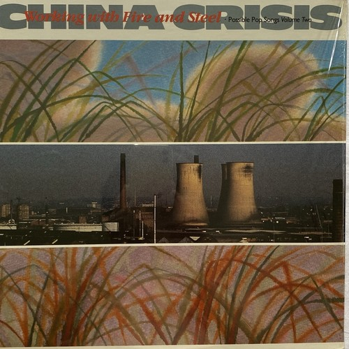 【LP・米盤】China Crisis / Working With Fire And Steel (Possible Pop Songs Volume Two)