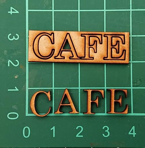 CAFE文字小