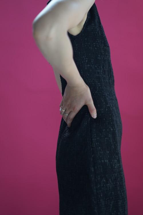 SUPER YAYA - Open Back Dress