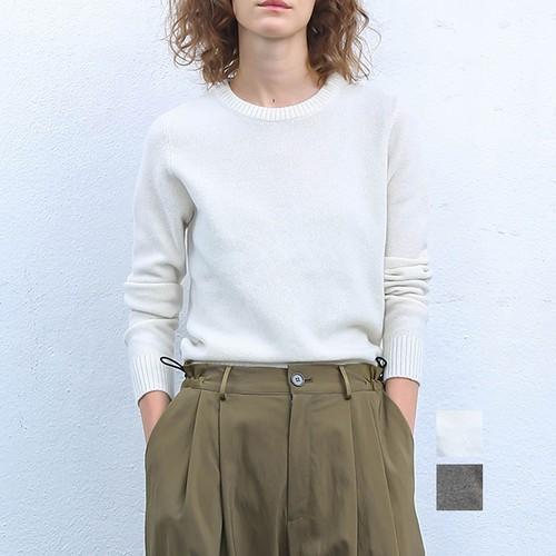 Bluene(ブルーネ) Cashmere Pique Knit 2020秋冬新作[送料無料]