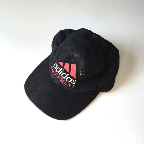 ADIDAS : performance logo embroidery cap (used) I