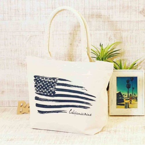 Thick canvas pipe handle tote(Medium size