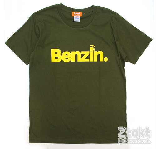 2takt T-shirt/Benzin/City Green