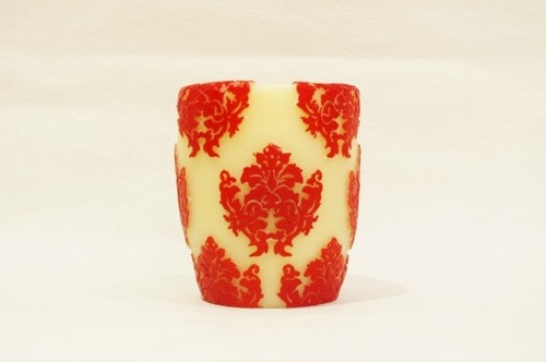 Orchid Vase/Red