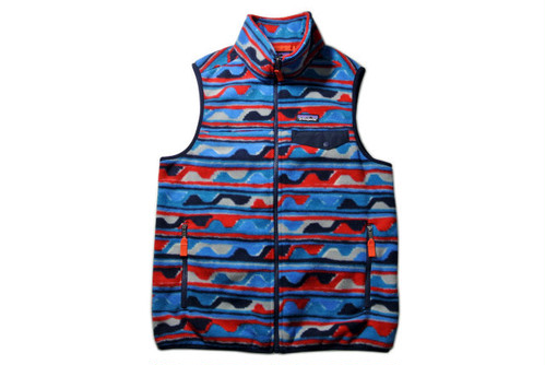 PATAGONIA  M's Synch Snap-T Vest   (Delta/Navy Blue)