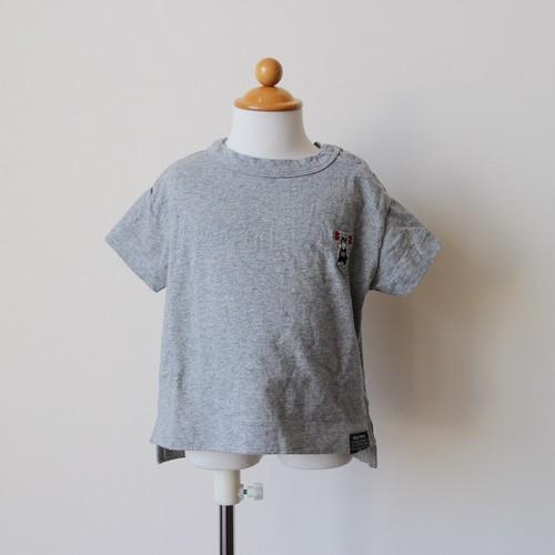 子供服 ドロップ刺繍T