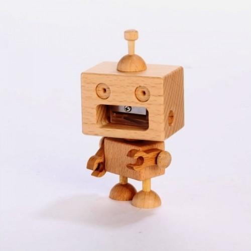 木製品 ROBOT PENCIL SHARPENER
