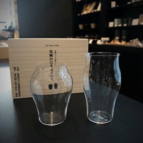 究極の日本酒グラスペア 桐箱入り