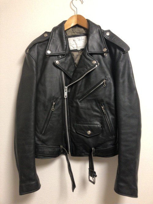 90's leather riders jacket