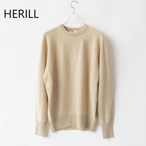 HERILL/ヘリル・golden cash hole garment crew