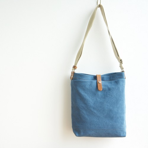 CANVAS SHOULDER M / RAIN BLUE