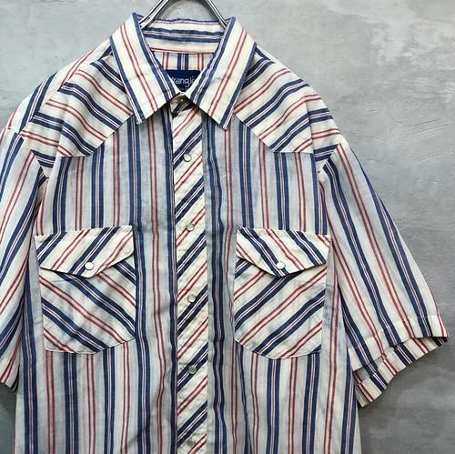 Wrangler VINTAGE ストライプシャツ  #1416