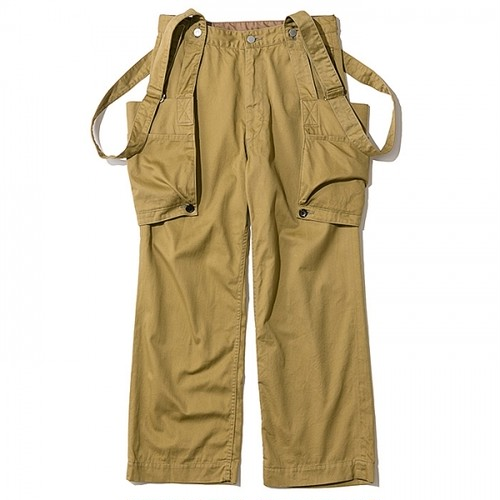 THE NERDYS / SUSPENDERS pants[K.BEIGE]