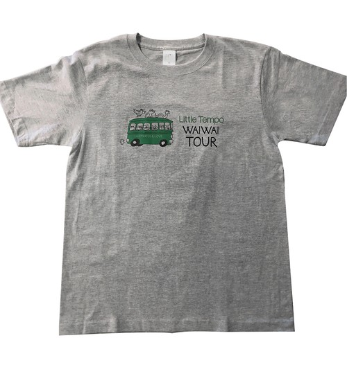 Little Tempo WAIWAI TOUR T-Shirts (特製ステッカー付)