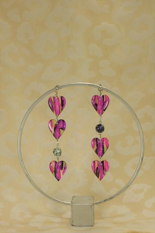 ハート3 -pink-