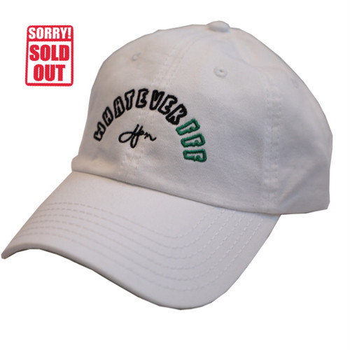 F.F.F. -whatever FFFJPN- Low Cap[WHITE/GREEN]