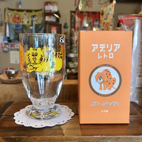アデリアレトロ 台付きグラス