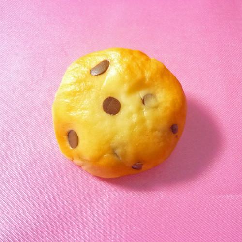 チョコチップクッキーブローチ(大)